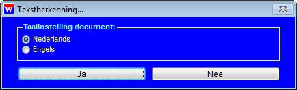 WinVIS tekstherkenning