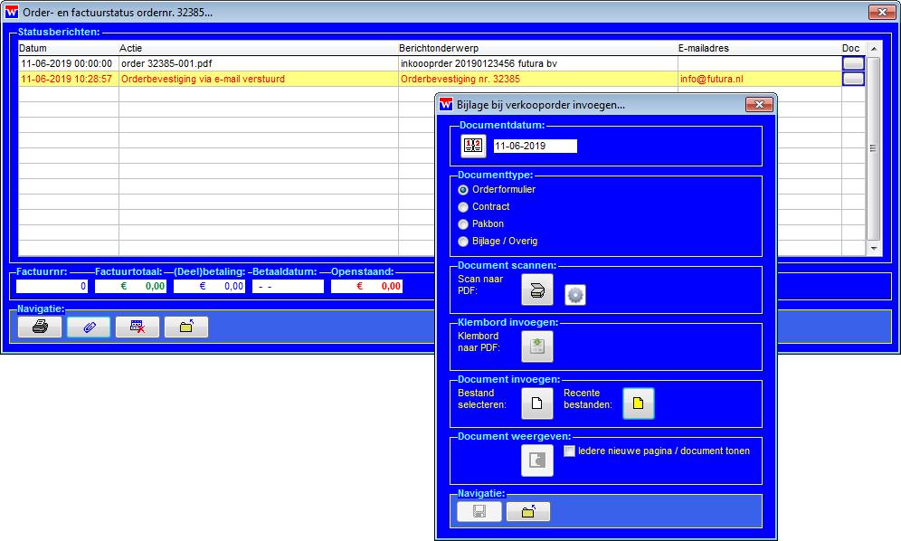WinVIS orderarchief